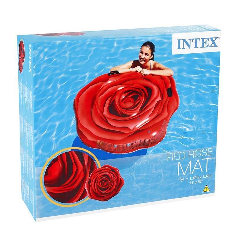 Надувной матрас-плот Intex 58783 Роза