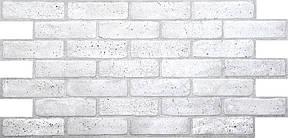 "Панели ПВХ камень ""Кирпич старый серый, фото 2"