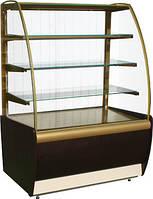 Кондитерская холодильная витрина ВХСв-1,3д Carboma
