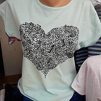 Женская футболка супер модная легкая
