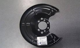 Щиток заднего тормозного диска GM 90498290 OPEL Astra-G/H Corsa-C Combo Meriva-A/B Zafira-A/B