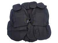 """Авточехлы """"Nika"""" Geely Emgrand Х7 кроссовер 2013-н.в. задняя спинка 1/3 2/3; подлокотник; 5 подголовников; передний подлокотник; airbag - Чехлы"""