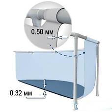 Каркасный бассейн сборный Prism Frame Intex 28202 (305*76 см) + фильтр-насос, фото 3