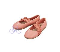 Дитячі Туфлі-балетки для дівчинки Lupilu 27-30-19 персикові, фото 1
