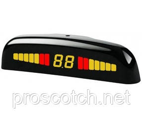 SM PTS400M1FB black Парковочный радар, STEELMATE