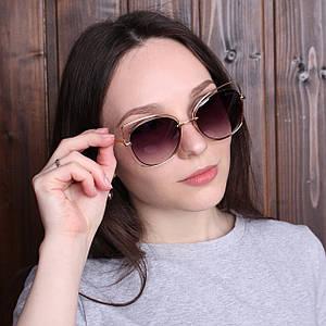 Женские очки в двойной оправе