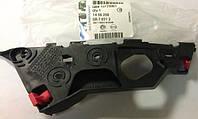 Направляющая (кронштейн, крепление, рейка) переднего бампера правая GM 1406208 13179961 13179964 OPEL Corsa-D соединяет передний бампер с передним