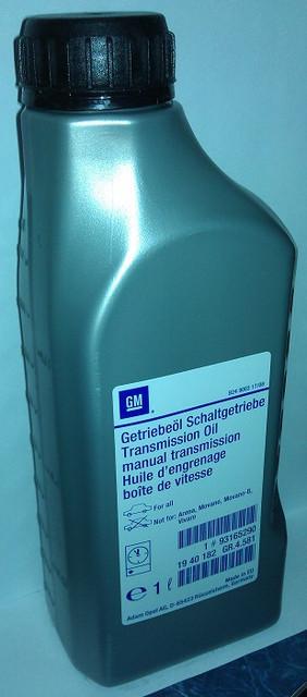 Масло трансмиссионное 1 литр L (SAE 75W-85 / API GL4) для МКПП (механических ручных коробок передач) + КПП easytronic (изитроник) GM 1940182 1940768