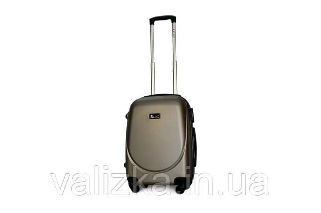 Малый пластиковый чемодан Fly 310 S+ для ручной клади шампань, фото 2