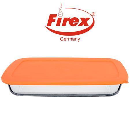 """Протвень термостекло Firex 236713 """"Scala"""" 2,9л, протвень стеклянный, противень стеклянная для запекания, форма"""