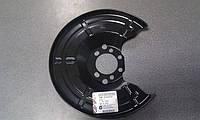 Щиток (кожух, шильдик, защита) заднего тормозного диска GM 0546435 90498290 92117527 ASTRA-G ZAFIRA-A ASTRA-H CORSA-C COMBO MERIVA-A MERIVA-B ZAFIRA-B