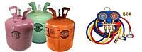 Оборудование и материалы для заправки кондицонеров