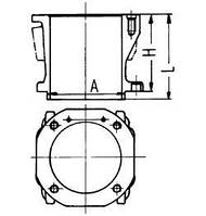 Гильза компрессора Mercedes (OM5..) (D=100мм)