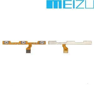 Шлейф для Meizu M5s (M612), с кнопкой включения, с кнопками регулировки громкости
