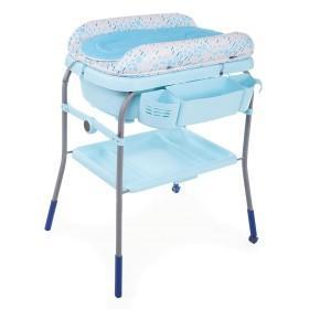 """Пеленальный столик с ванночкой """"Cuddle & Bubble"""", Chicco Голубой 79348.86"""