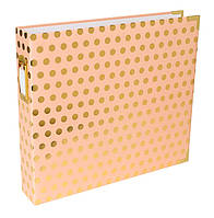 Альбом - Blush Gold Dot - Project Life - 30x30