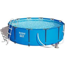 Каркасный бассейн Bestway 56418 размер 366х100 с картриджем и фильтром