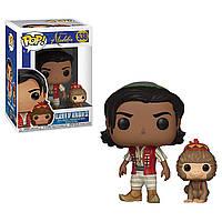 Фигурка фанко Аладдин с Абу - 37022 Funko Pop Disney Aladdin Live Action - Aladdin with Abu #538