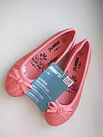 Детские Туфли-балетки для девочки Lupilu 33-21 персиковые, фото 1