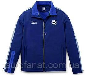 Оригинальная мужская куртка Volkswagen Softshell Jacket, Legendary years of Motorsport Men's Blue (5NG084003А)