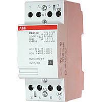 ABB Контактор модульный ESB 24-40 230V 24А 4НО (GHE3291102R0006)