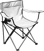 Раскладное кресло паук с подстаканником B15701, белое, фото 1