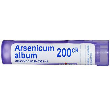 Boiron, Single Remedies, Арсеникум альбум, 200CK, прибл. 80 гранул