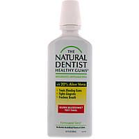 Natural Dentist, Полоскание для полости рта, здоровые десны, против гингивита и кариеса, с запахом мяты, 16,9 ж. унц. (500 мл)