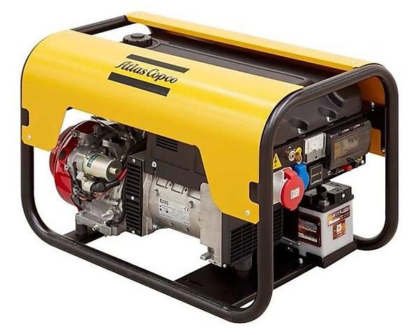 Бензиновый генератор Atlas Copco QEP R6.5