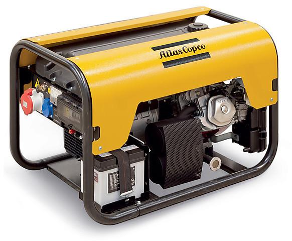 Дизельный генератор Atlas Copco QEP R7