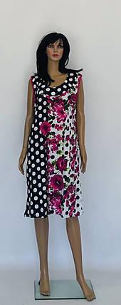 Платье трикотажное без рукава, фото 2