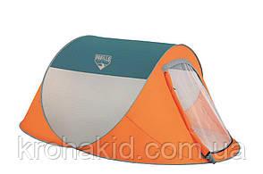 Двухместная автоматическая  палатка Nucamp Bestway 68004, размером  235х145х100 см., фото 2