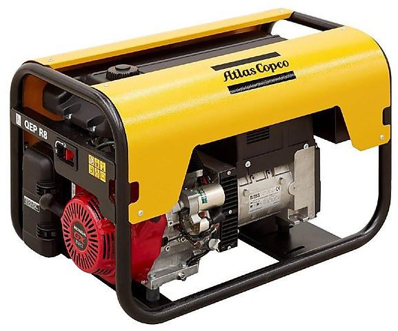 Бензиновый генератор Atlas Copco QEP R8