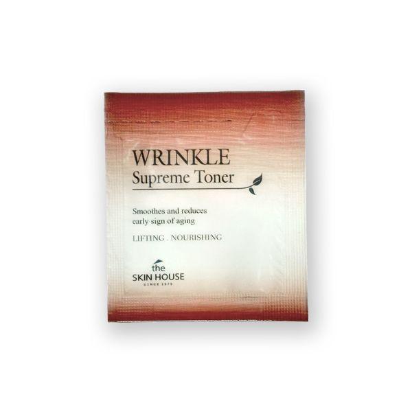 Питательный тоник с женьшенем The Skin House Wrinkle Supreme Toner, Пробник