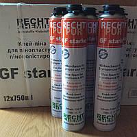 """Клей-пена  """"RECHT PUR GF starke"""",для систем утепления(750мл/950гр)професиональная"""