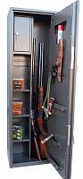 Сейф оружейный 1370*390*250мм / 45кг с патронным отделением, фото 1