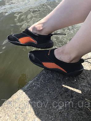 Тапочки для кораллов, аквашузы, обувь для плавания, дайвинга, серфинга BECO 9217 03, фото 2
