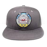 Кепка бейсболка  Тоторо My Neighbor Totoro серая
