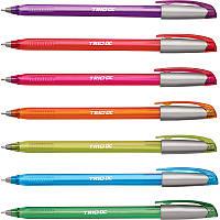 Ручка шариковая Trio Neon DC, синяя