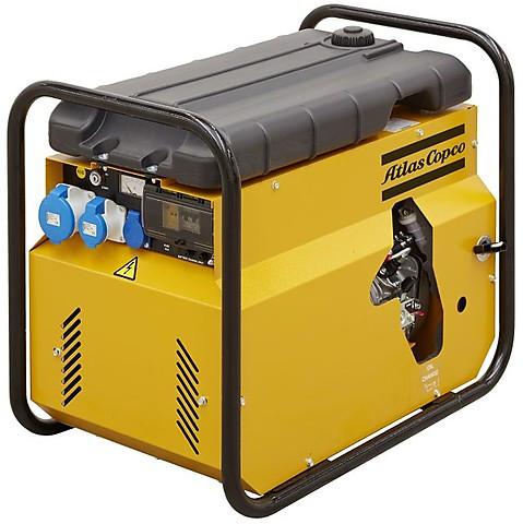 Дизельный генератор Atlas Copco QEP S4