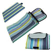 Раскладной коврик для пикника, покрывало на природу влагостойкое
