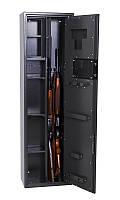 Сейф оружейный 1370*390*250мм / электронный замок / 42кг с патронным отделением