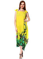 Женский сарафан-парео яркого цвета, фото 1