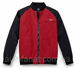 Оригинальная мужская куртка пилота Volkswagen GTI Pilot Jacket, Men's, Red/Black (5KA084003A)