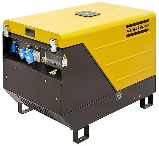 Бензиновый генератор Atlas Copco QEP S12
