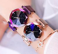 Часы женские Starry Sky звёздное небо 3 цвета