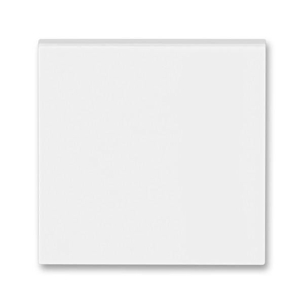 Вимикач 1 кл кнопковий 1NO білий/крижаний білий, Levit Elektro-Praga ABB