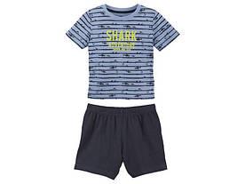 Пижама, костюм для мальчика SHARK Adventure Lupilu (Германия) р.86/92, 98/104, 110/116