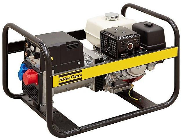 Бензиновый сварочный генератор Atlas Copco QEP W210