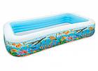Надувний басейн Intex 58485 Тропічний риф, дитячий, для дітей, інтекс для дачі, сім'ї, фото 2